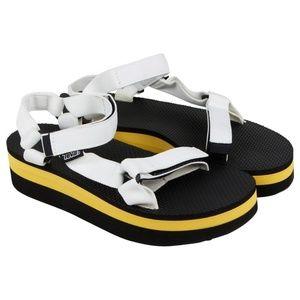 EUC Teva Platform Sandal
